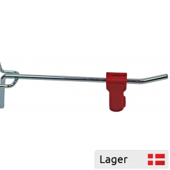 Theft protection for single hook, with magnet securing