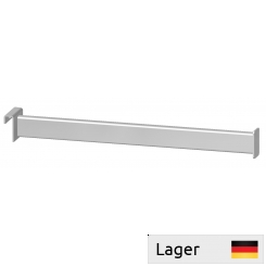 Straight arm, with plate end, for 10mm bar