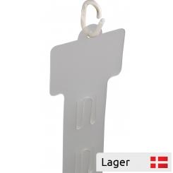 Klar PVC Aktionsliste m. prisplade 63x40mm