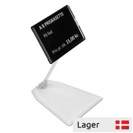 A8 price cassette black, in a clear plastic foot
