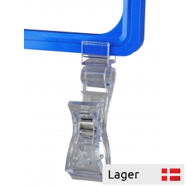 Universal clips with holder, for poster frame