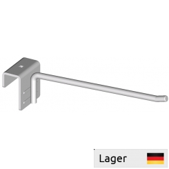 Single hook, for 50x20mm perforated backbar