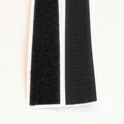 Velcro tape - black