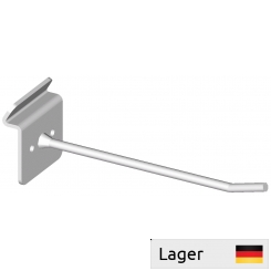 Single hook, for slatted panels 5mm