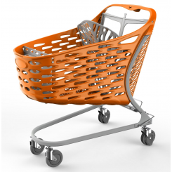 City shopping trolley 130 liters