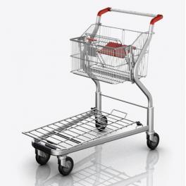 Platform Trolley GM 2/2 with sliding basket