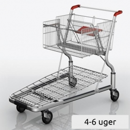 Platform Trolley GM 4 with sliding basket