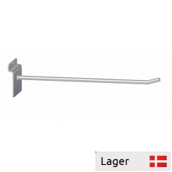 single hook, for slatted panels with plate end