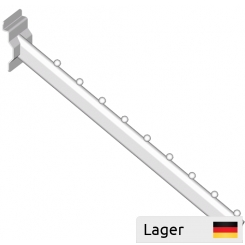 Garment arm 30x15mm with 9 balls, for slatted panels