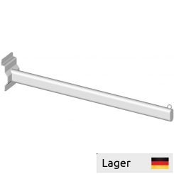 Garment arm30x15mm with 1 ball, for slatted panels