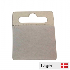 Adhesive pad width for hanging on hook
