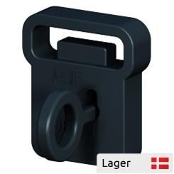 Tyveri-sikring, Lås m. 1 nøgle, passer til alle dobbeltkroge
