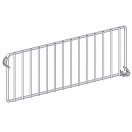 Divider for Reversible Wire Shelf
