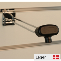 Security lock for double hooks w. magnet