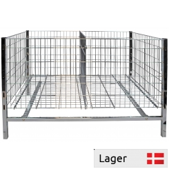 Sales Basket with 2 loose adjustable shelves and 1 divider