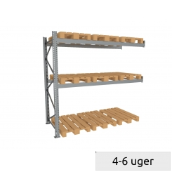 Pallet rack follow-set 600 kg/pallet