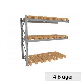 Pallet rack follow-set 600 kg/pallet