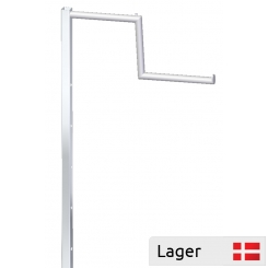 Stepped arm, H 95 cm, for garment stand
