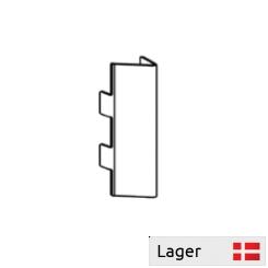 Bagplade lås