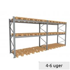 Pallereol sæt 600 kg/palle