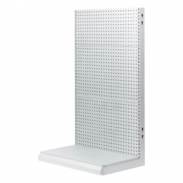 L stander with square holes