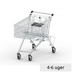 Shopping Trolley GEA S with retractable shelf
