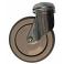 Hjul med stål gaffel, til kundvogn