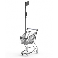 Childrens' Shopping Trolley GE BT with flagpole