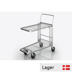 Picking Trolley with 2 platforms