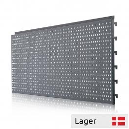 Perforated back panel 90 degrees internal corner
