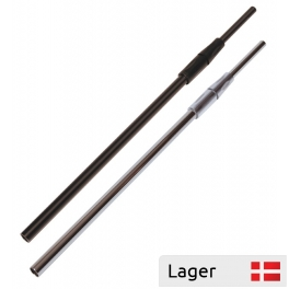Telescopic pole with connector