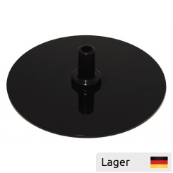 Round heavy base for tube/poster frame, metal