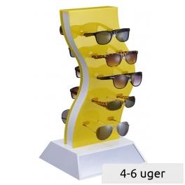 Præsentations-Display til 2x5 solbriller