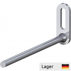 Single hook Ø7 for mounting with a screw