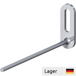 Single hook Ø4 for mounting with a screw