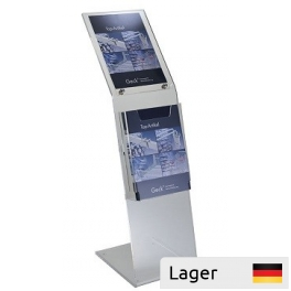 Leaflet Holder - Information Display in Clear Acrylic