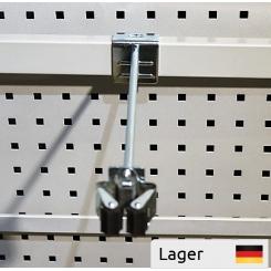 Redskabsholder Ø8 x 250 mm, med Prax-holder