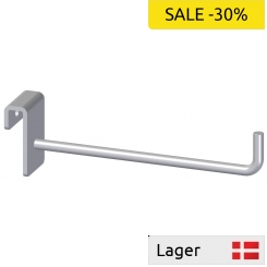 Single hook Ø4,8 x 100mm with bended ending, for 6mm bar