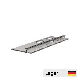 Profile for divider, for wire shelf