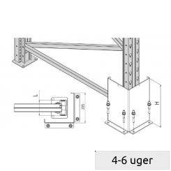 Angle frame protector 90
