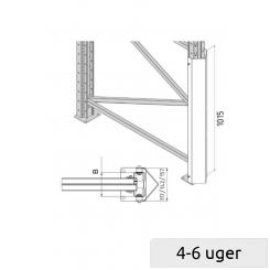 Vertical frame protector