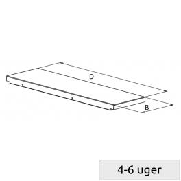 Shelf for high rack
