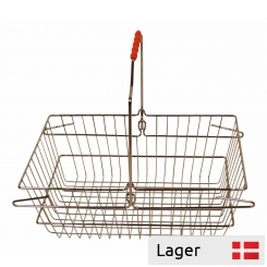 Shopping Basket - Chrome