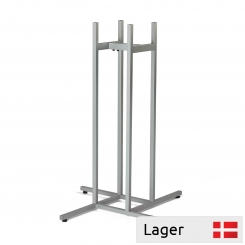 Garment stand, base 87x87cm, for 4 arms