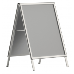 Pavement board - Hinged aluminium A-stand