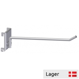 Single hook for panel with square holes 9x9, distance 34mm