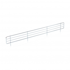 Front grille for sheet metal shelf
