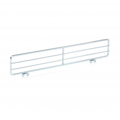 Divider for wire shelf
