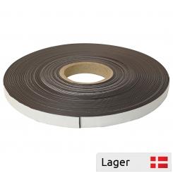 Magnetic tape, selfadhesive