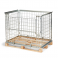 Wire mesh frame for EUR-pallet